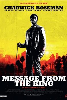 Смотреть трейлер Message from the King (2016)