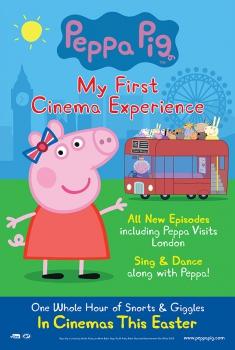 Смотреть трейлер Peppa Pig: My First Cinema Experience (2017)