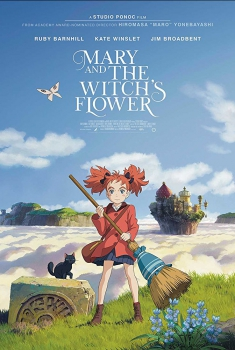 Смотреть трейлер Mary and The Witch's Flower (2017)